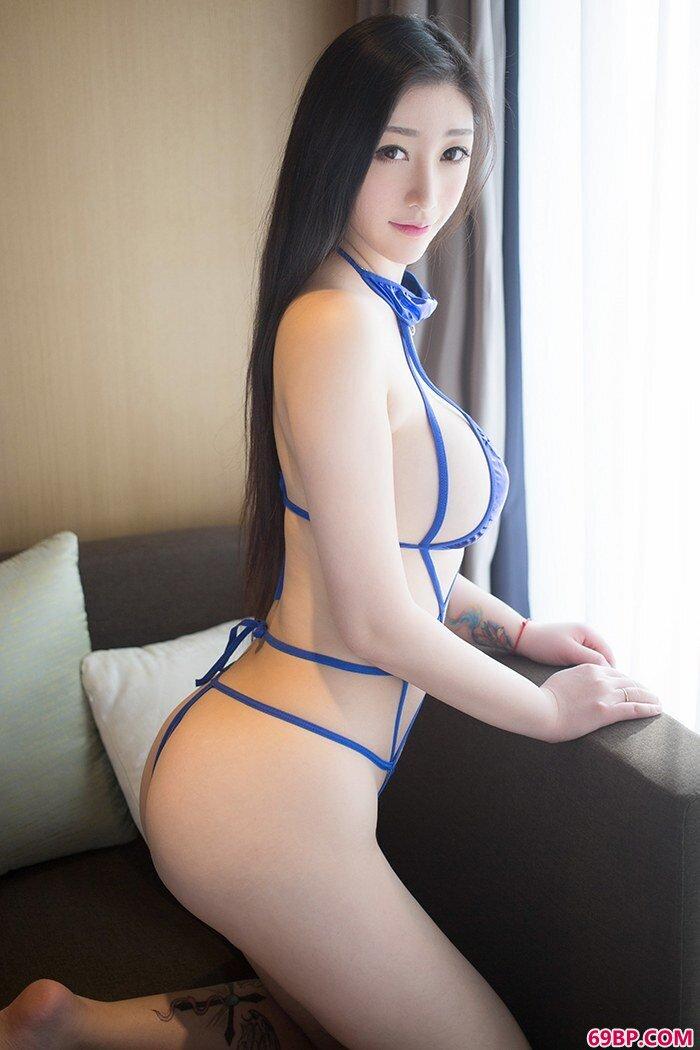 爆乳美少女妲己热辣身姿神情魅惑_新国模02150p