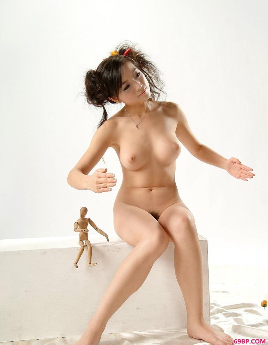 377P欧洲大胆艺术_嫩模毓惠木偶与人体2